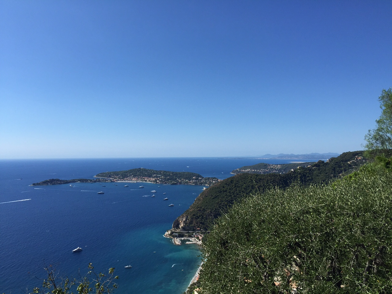 Views over Saint Jean Cap Ferrat