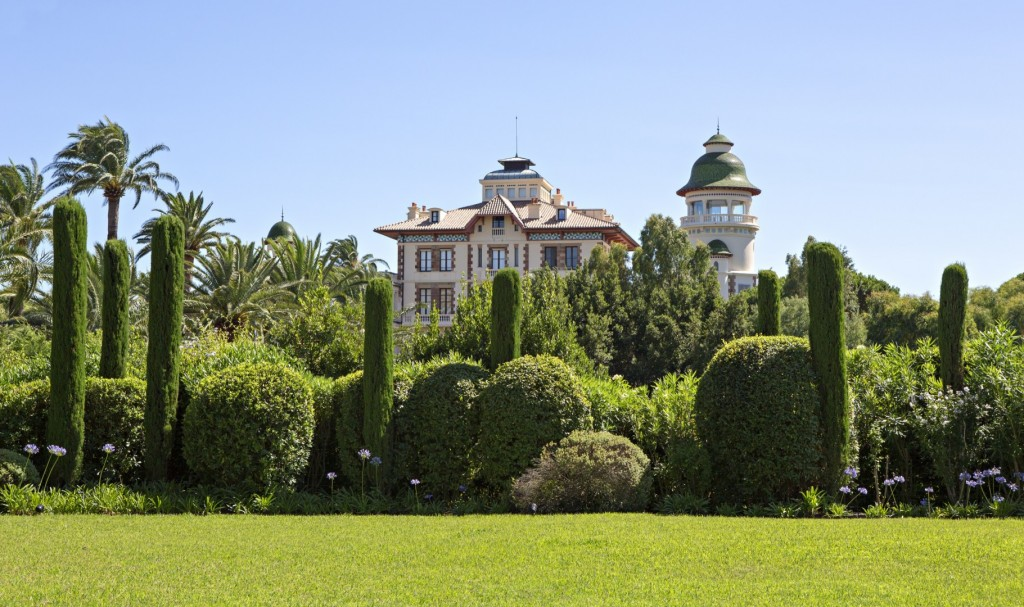 Chateau Borelli located in les Parcs de Saint Tropez