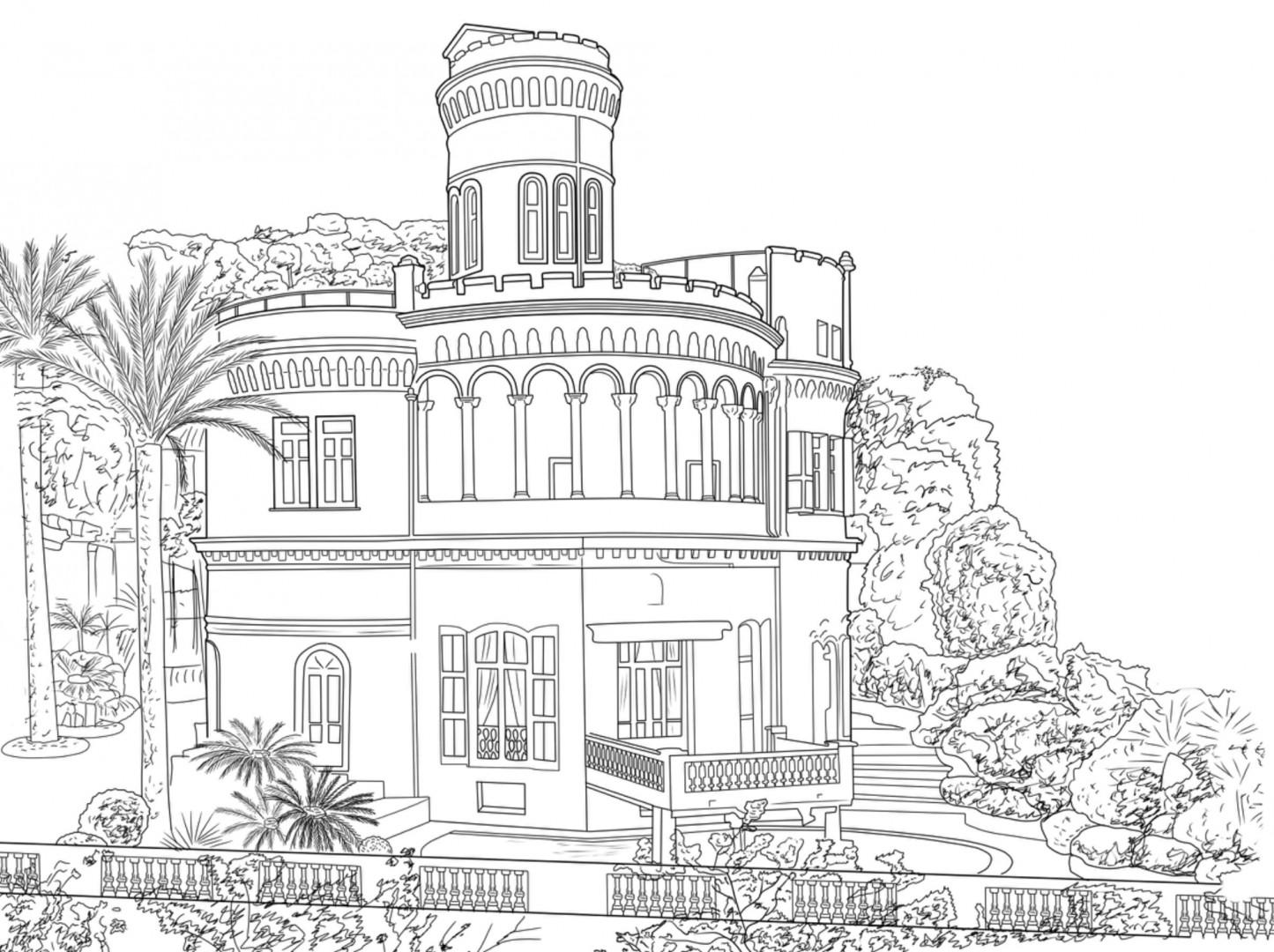 Chateau de la Tour de Mont Boron