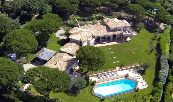 Villa for rent in St Tropez with 7 bedrooms, in 480 sqm of living area.