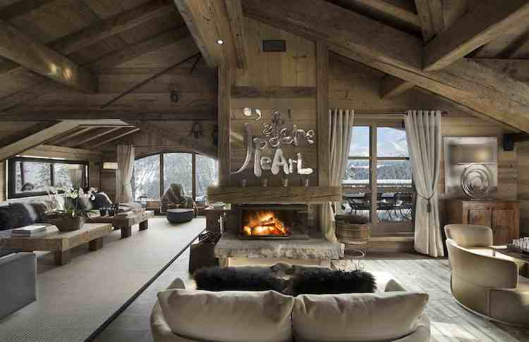 Chalet for rent in Courchevel with 7 bedrooms, in 800 sqm of living area.