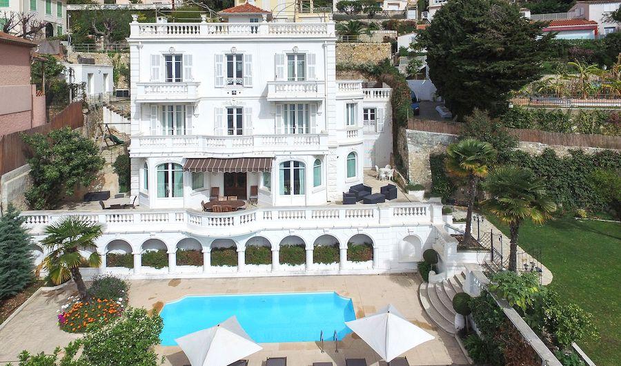 A Beautiful Belle Epoque Villa In Villefranche Sur Mer