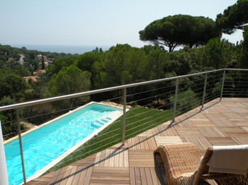 Villa for rent in St Tropez with 6 bedrooms, in 650 sqm of living area.