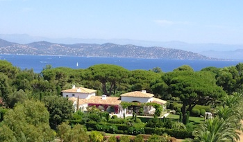 Villa for rent in St Tropez with 7 bedrooms, in 455 sqm of living area.