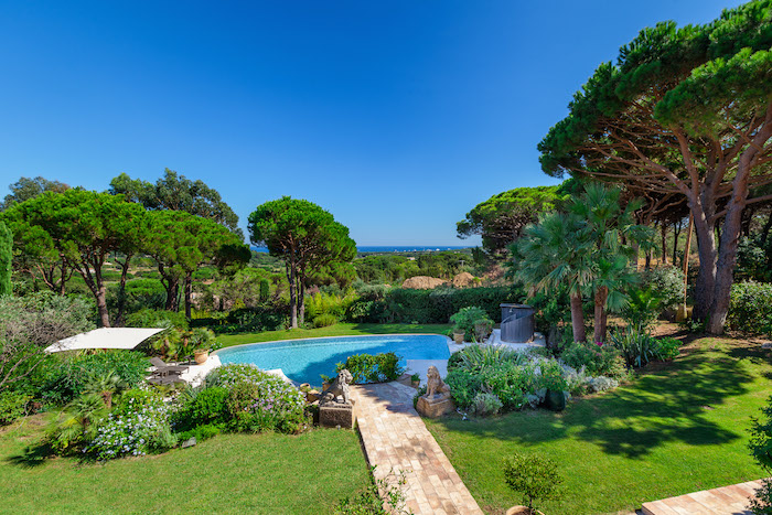 Villa for rent in St Tropez with 7 bedrooms, in 450 sqm of living area.