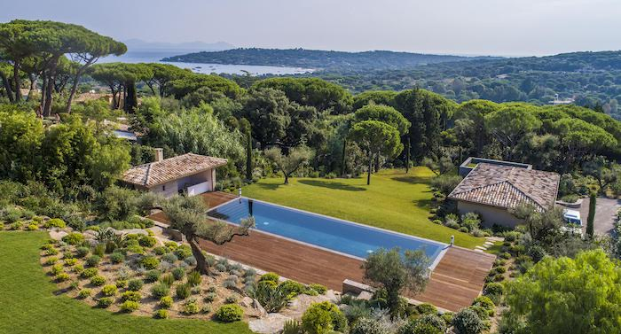 Villa for rent in St Tropez with 9 bedrooms, in 675 sqm of living area.