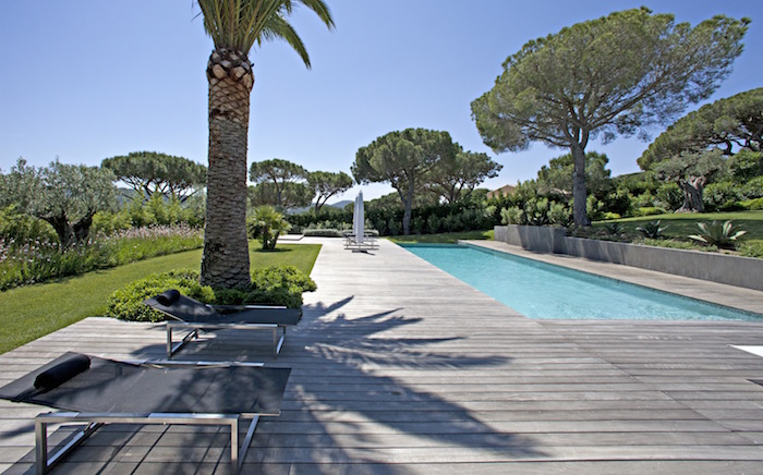 Villa for rent in St Tropez with 6 bedrooms, in 330 sqm of living area.