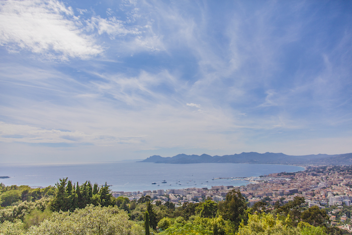 Views taken from a property in the heights of Cannes, locally known as Super Cannes