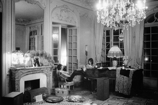 Living room in Villa Nellcote