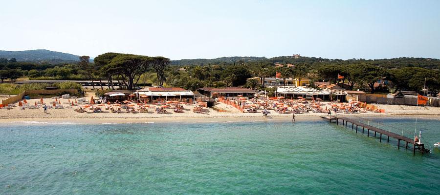 Views facing tahiti beach