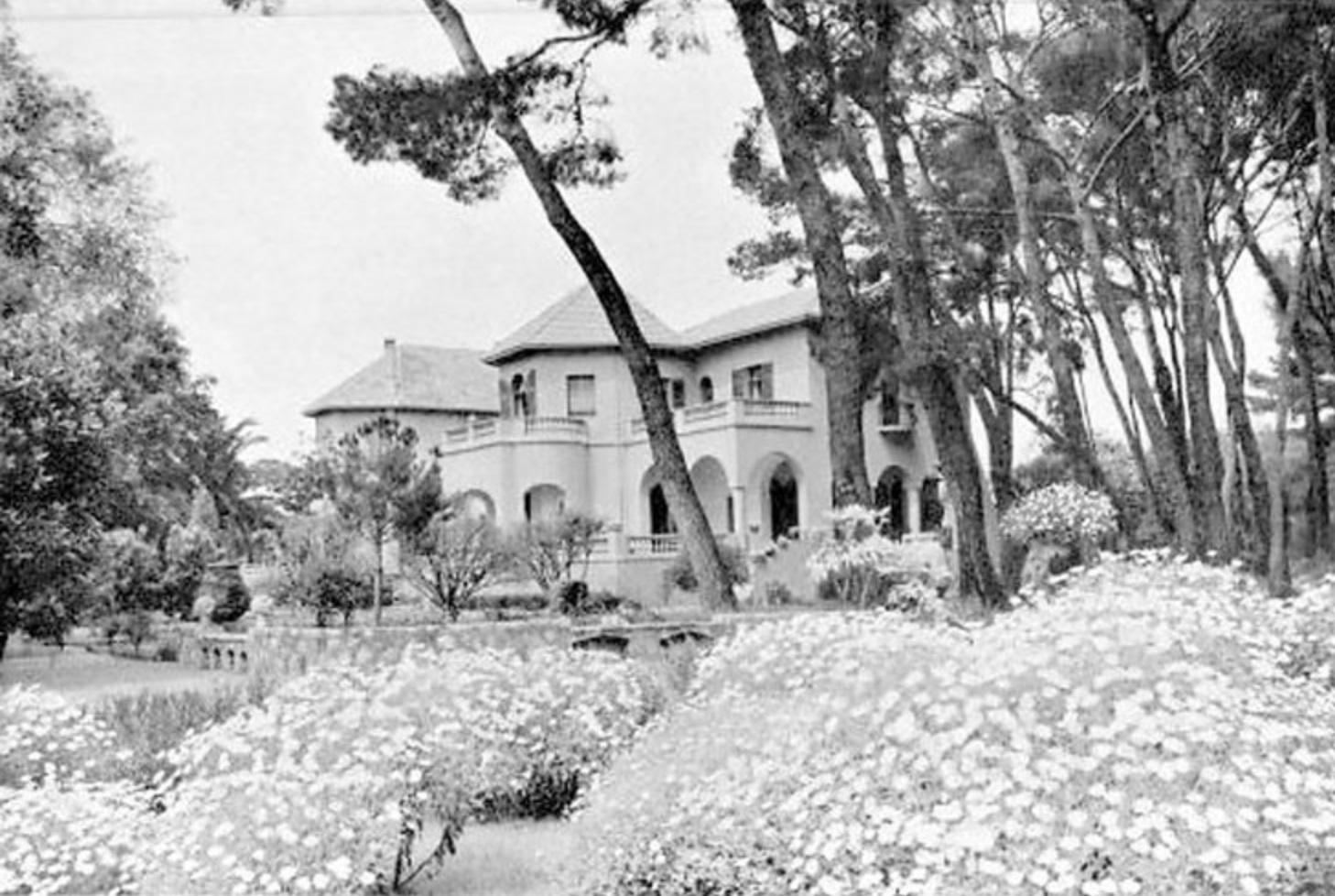 Villa Jean Andrée on the Cap d'Antibes