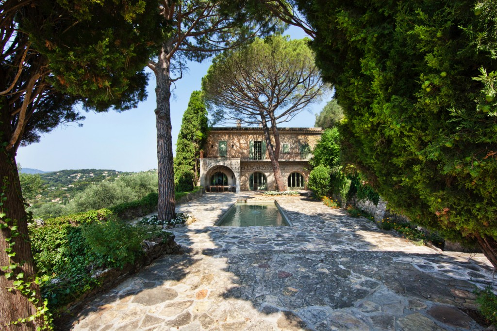 Famous Houses along the Cote d'Azur